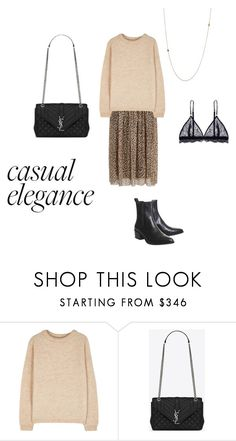"""""""Casual elegance"""" by belle-larsen on Polyvore featuring Acne Studios"""