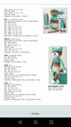 Crochet Doily Patterns, Crochet Doilies, Crochet Toys, Presents, Knitting, Handmade, Free Pattern, Plushies, Cat Crochet