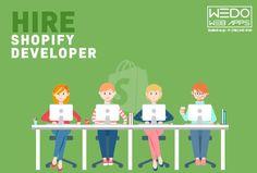 #hireshopifydeveloper from #Shopifydevelopmentcompany (http://www.wedowebapps.com/shopify-development.html) that builds brilliant #ecommerce #websites