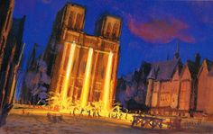 The Hunchback of Notre Dame concept art