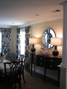 A Navy Dining Room Reveal!