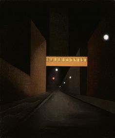 Sullivan Street Abstraction by George Ault (American, 1891–1948)