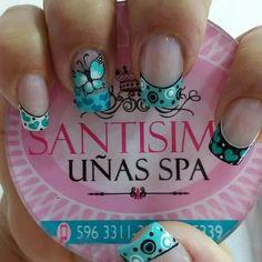Manicure Y Pedicure, Fancy Nails, Nail Designs, Nail Art, Ideas, Work Nails, Bow Braid, Classy Nails, Polish Nails