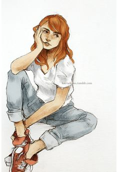 Women of Harry Potter: Ginny Weasley Is Not Impressed Harry Potter Drawings, Harry Potter Fan Art, Harry Potter Universal, Character Inspiration, Character Art, Character Design, Hogwarts, Gina Weasley, Beste Comics
