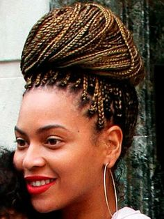 Box Braids on Pinterest | Long Box Braids, Beyonce and ...
