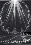 Royal Collection - Beautiful Royal beaded edge wedding veil
