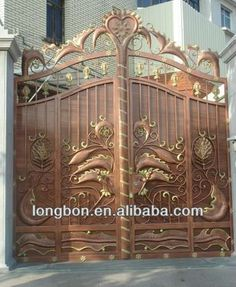 2017 Top Selling Newest House Iron Gate Design   Buy House Iron Gate Design,Sliding  Gate Designs For Homes,House Steel Gate Design Product On Alibaba.com