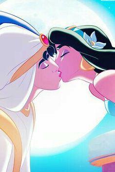 Aladdín y Jazmin - Princesas de Disney
