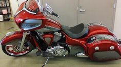 Indian Chief - Dirty Bird Custom at South Elgin IL Victory/Indian