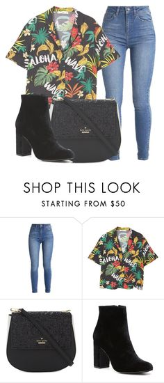 """""""Outfit #1733"""" by lauraandrade98 on Polyvore featuring MANGO, Kate Spade and Witchery"""