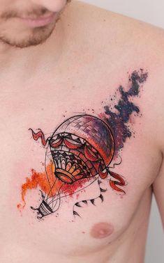 Home - Tattoo Spirit Loki Tattoo, C Tattoo, Tattoo Motive, Ink Master Tattoos, Tattoo Collection, Air Balloon Tattoo, Sketch Style, Dibujos Tattoo, Tattoo Spirit