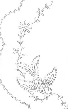 Lots of embroidery patterns from Love to Sew photostream