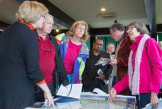 A large crowd showed up at an open house in Ladner on Saturday to learn more about a plan to replace the George Massey Tunnel. Project director Geoff Freer said the project is a decade away from being built but planning needs to start now.