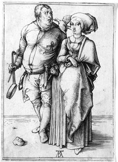 a cook and his wife.