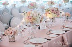 2016 Blush Pink Wedding Reception Centerpiece 2