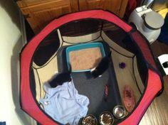 Amazon.com: Burgundy Pet Tent Exercise Pen Playpen Dog Crate XS: Pet Supplies