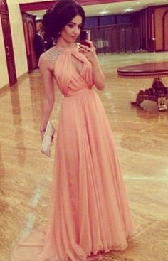 Sexy Prom Dress,Beading Dress,A-Line Prom Dress,Chiffon Prom Dress,15040114