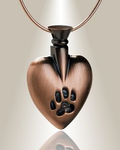 Copper plated in my heart urn pendants can be filled with your choice of remembrances to hold close your treasured memories.