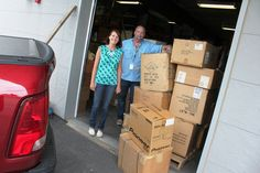 """THANKS to the Walmart Logistics team (represented by Trisha Risher and Patrick Fuller), who mounted the Need to """"Pack My Stuff"""" Event (a luggage/backpack drive for our kiddos), which resulted in a staggering donation of 1,160 items. The team was moved when they learned that kids in foster care often carry their belongings from place to place in garbage bags, and they organized the donation drive to address the issue. THOUSANDS of kids will be helped by their act of kindness."""