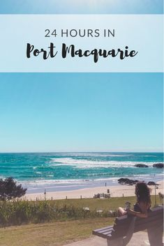 Our Australian East Coast road trip brought us to the cutest little beach town - 24 Hours in Port Macquarie. Australia Country, Coast Australia, Australia Travel, East Coast Road Trip, Port Macquarie, Beach Town, Travel Goals, Travel Guides, Trip Planning
