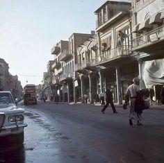 شارع الرشيد بغداد سنه 1966