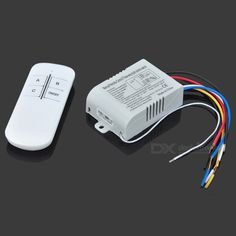 Intelligent Wireless Remote Control Switch. Working voltage: 180~240V; Working temperature: <85'C; Load power: 1000W x 3; Working frequency: 50/60Hz; Remote distance: 150~200m; Suitable for indoor circuit; Load: incandescent light bulb </= 1000W, energy saving lamp: </= 6 PCS, H tube: </= 5 PCS; Temperature: <85'C. Tags: #Electrical #Tools #Switches #Adapters