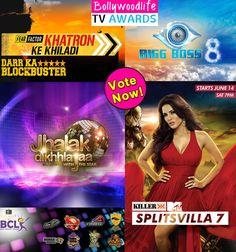BollywoodLife TV Awards 2015: Bigg Boss 8, Jhalak Dikhhla Jaa 7, Splitsvilla 7 – which was your favourite reality show? #JhalakDikhhlaJaa7  #Splitsvilla7