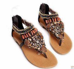 cute bohemian style shoes
