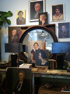 Love portraits- #interior #design #art #installation #artwall #gallery #artcollection #collection #museumviews