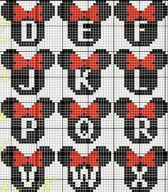 Resultado de imagen de mickey mouse perler bead patterns