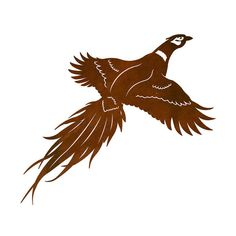 Pheasant Laser Cut Wall Art Mural by CabinExclusive on Etsy