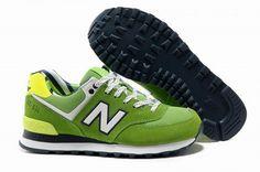 Joes New Balance 574 WL574YCG lovers White Green Yacht Club Womens Shoes