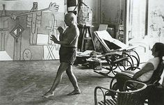 Picasso Dancing, Playing Horn, 1957  Larry Burrows