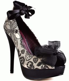Iron Lace Platform Shoes (a favourite gothic punk shoes repin of VIP Fashion…