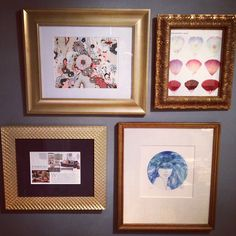 sadie + stella: home is where the art is. Makings of a legit gallery wall.
