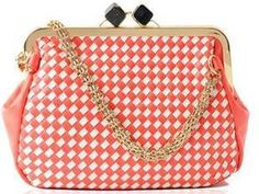 sweet woven handbags shoulder bags