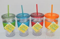 Super cute teacher appreciation cups.