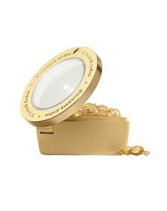 Elizabeth Arden Ceramide Gold Ultra Lift and 200 Advantage card points. Pure, intensive single dose capsules with CLX Complex fortify skin in the eye area to help fight fine lines and crows feet and give eyes a virtually lifted, smoother, bright http://www.MightGet.com/february-2017-1/elizabeth-arden-ceramide-gold-ultra-lift-and.asp
