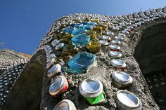 EVE Cans and bottles | Details of bottles and cans around ar… | Earthship Kirsten | Flickr