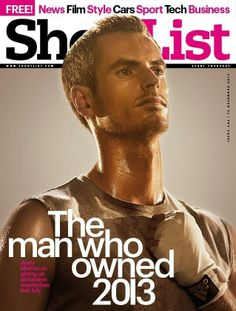 Andy Murray on the cover of ShortList