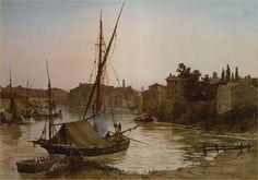 Ettore Roesler Franz - Porto Ripa Grande