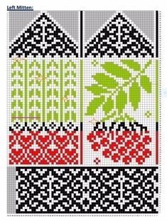 Knitted Mittens Pattern, Knit Mittens, Mitten Gloves, Knitting Socks, Hand Knitting, Knitting Charts, Knitting Stitches, Knitting Needles, Knitting Patterns
