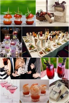 a simple cocktail party top pins of the day pinterest party time foods and wines. Black Bedroom Furniture Sets. Home Design Ideas