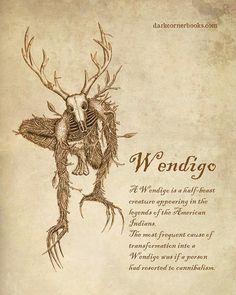 Wendigo - forest spirit