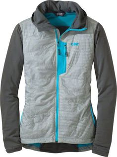 Outdoor Research Deviator Women's Hoody Alloy/Pewter