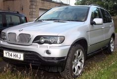 BMW X5 4.4i, Silver first registered in 2001, Car has a certificated LPG Conversion and is also reg
