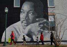 A poster of Martin Luther King, Jr. speaking at the 1963 March on Washington hangs on my office's wall at the Brookings Institution, which is located just about two miles from where he gave his fam…