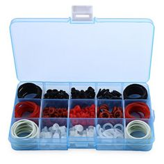 Tattoo Accessories Kit O-rings Rubber Bands with Big Store Box #men, #hats, #watches, #belts, #fashion