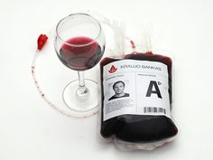 Advertising firm Astos Dizainas McCann Erickson wants the world to know that they have new blood running through their veins. The blood bags, which are filled  with wine, are a self promotional conversational piece that the team is sending out to clients...