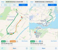 Mapas de Apple añadir información del transporte público en Montreal - http://www.actualidadiphone.com/mapas-apple-anadir-informacion-del-transporte-publico-montreal/